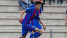 Lucas de Vega juega en el juvenil A del Barça