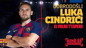 Luka Cindric ya es del Barcelona