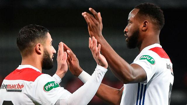 El Lyon gana por la mínima al Guingamp