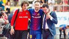 Mario Rivillos se lesionó hace seis meses