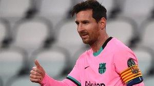 Messi, satisfecho ante la Juventus