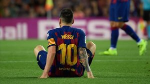 Messi suma dos lesiones desde que empezó la temporada