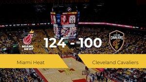 Miami Heat consigue la victoria frente a Cleveland Cavaliers por 124-100