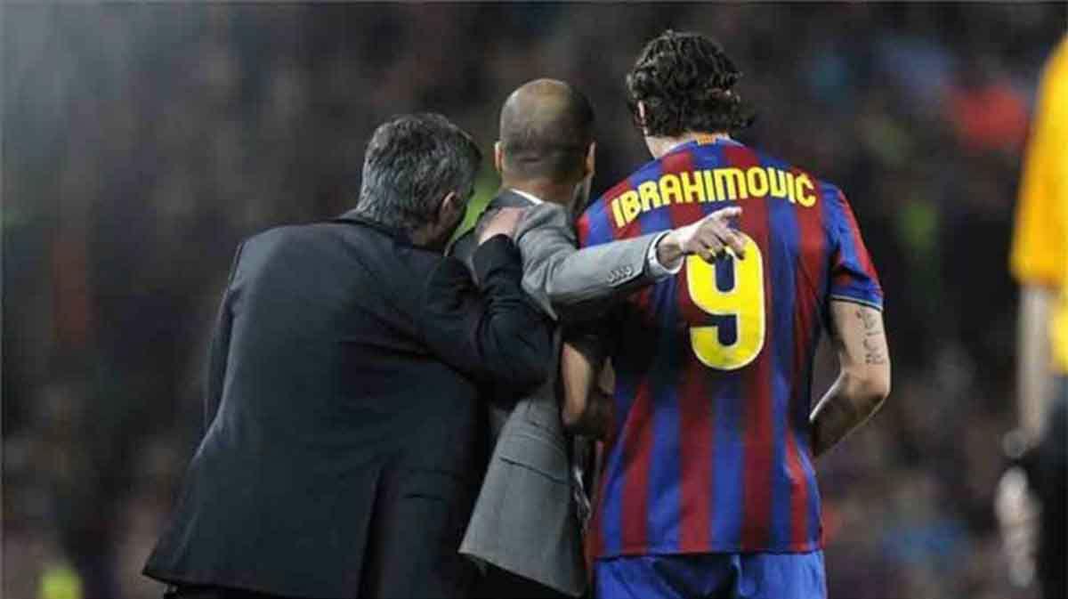 El momento en el que Mourinho susurró algo al oído de Guardiola