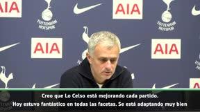 Mourinho: Lo Celso se está adaptando muy bien