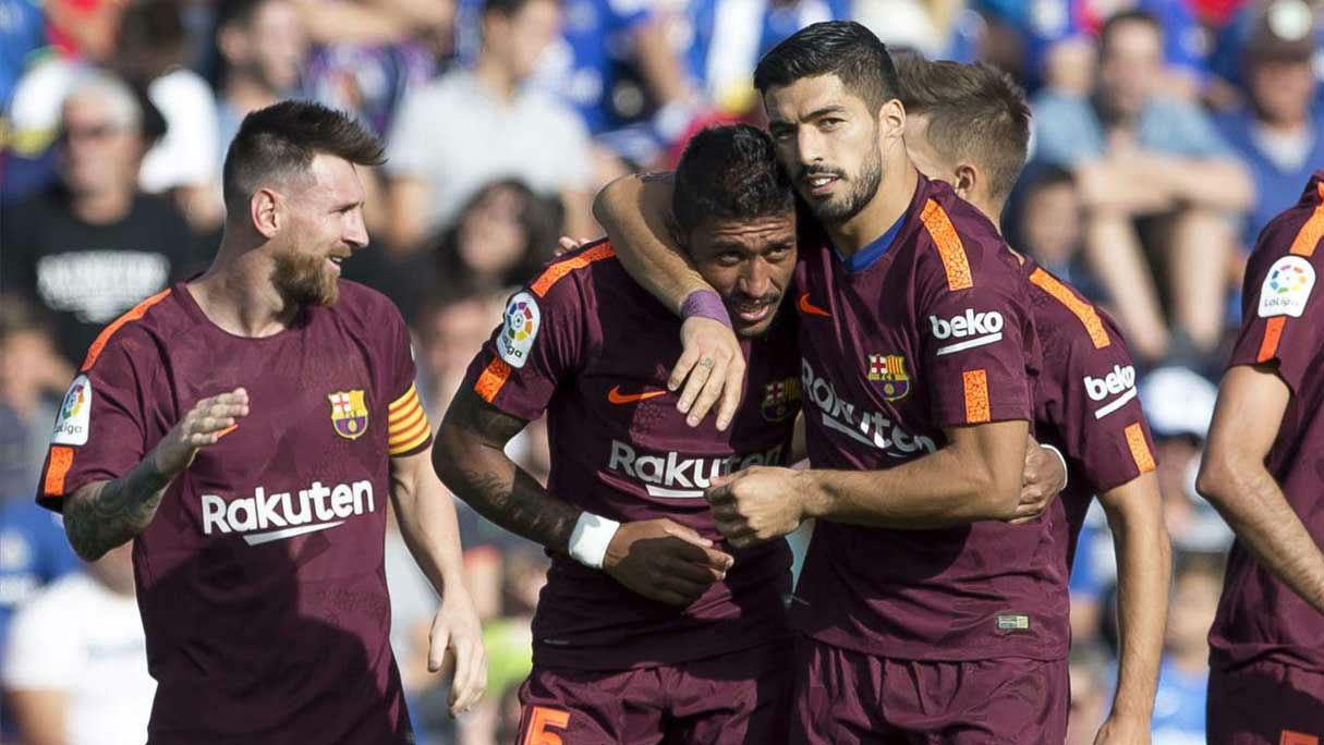 El once del FC Barcelona contra el Valencia
