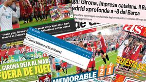 La prensa se hace eco del mal momento que vive el Real Madrid