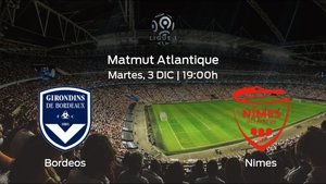 Previa del encuentro: el FC Girondins Bordeos recibe al Olimpique de Nimes en la decimosexta jornada