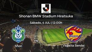Previa del encuentro: Shonan Bellmare - Vegalta Sendai