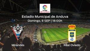 Previa del partido: el CD Mirandés recibe en su feudo al Real Oviedo