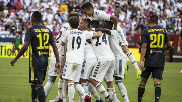 El Real Madrid derrotó de manera cómoda a la Juventus (3-1)