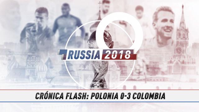 Rusia 2018 | Colombia golea y elimina a Polonia