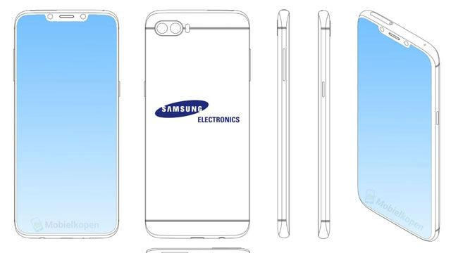 Samsung podría incluir notch en su próximo terminal