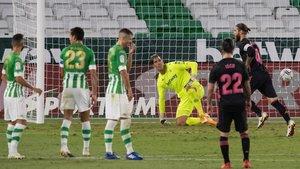 Sergio Ramos decidió el partido desde el punto de penalti