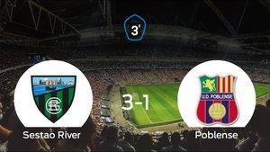 El Sestao River se clasifica para la siguiente ronda de los playoff tras vencer 3-1 contra el Poblense