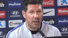 Simeone: Son los futbolistas los que me empujan a renovar