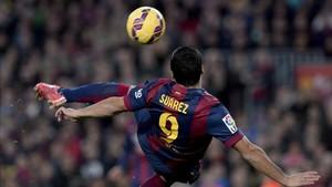 Suárez, delantero del FC Barcelona