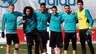 A sus 17 años, Adrián Rodríguez ya ha entrenado varias veces con el primer equipo del Real Madrid