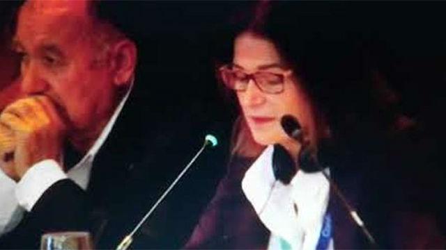 Totally de acuerdo. La presidenta de la Federación Española de Vela se marca un Ana Botella
