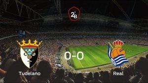 El Tudelano y la Real Sociedad B empatan y suman un punto a su casillero (0-0)
