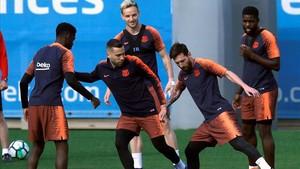 Umtiti, Dembelé y Rakitic, los jugadores azulgrana que pueden proclamarse campeones del mundo con sus respectivas selecciones