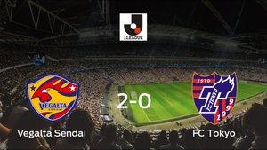 El Vegalta Sendai se queda con los tres puntos frente al FC Tokyo (2-0)