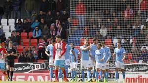 La victoria en Lugo mitigó la mala recha en casa del Girona