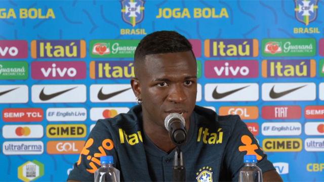 Vinicius: Zidane dice que voy a jugar mucho tiempo en el Madrid, como Marcelo y Casemiro