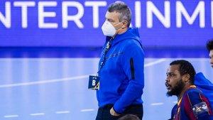 Xavi Pascual valoró muy positivamente el partido de su equipo