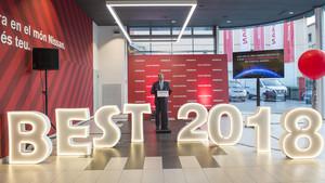 El concesionario Olot Motor, premiado como uno de los mejores de Nissan del mundo.