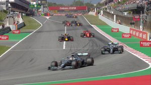 Imponente victoria de Hamilton en el GP de España