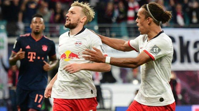 El RedBull Leipzig le corta las alas al Bayern