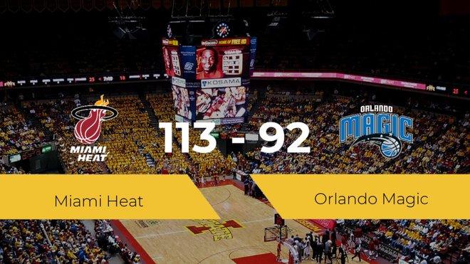 Miami Heat gana a Orlando Magic (113-92)