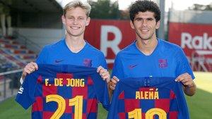 ¡Aleñá carga contra la directiva del Barça por su dorsal! (ES)