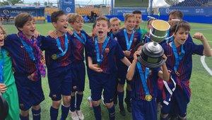El Alevín A de la pasada temporada con el título en Villarreal