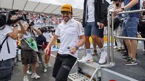 Alonso, optimista para las próximas carreras
