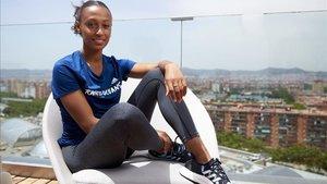 Ana Peleteiro, imagen de la campaña Run for the Oceans de Adidas