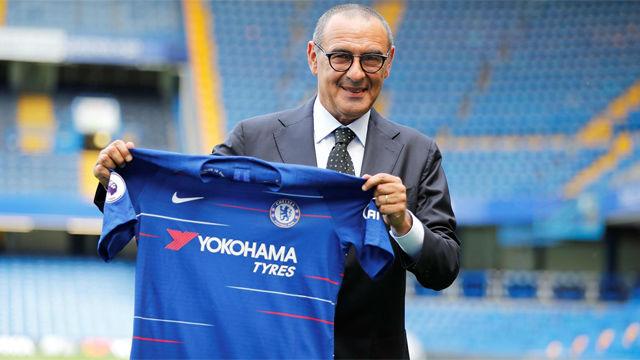 Así ha sido la presentación de Sarri con el Chelsea