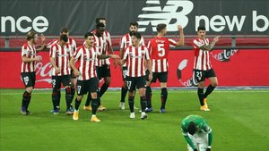 El Athletic golea al Betis