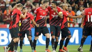 Atlético Paranaense derrotó a River Plate en la primera final