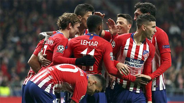 El Atlético selló su pase a octavos como primero de grupo
