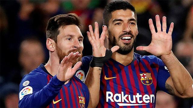El Barça celebró el gol 400 de Messi en Liga con victoria