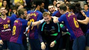 El Barça está acostumbrado a celebrar muchos títulos