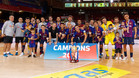 El Barça lassa sumó una nueva Copa Catalunya de fútbol sala