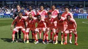 El Barcelona alineó a su equipo B ante el Huesca