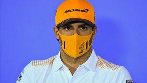 Carlos Sainz, cauteloso respecto a los resultados