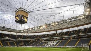 El Commerzbank Arena podría albergar la final de la Champions League