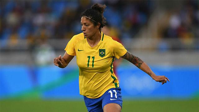 Cristiane, una leyenda del fútbol femenino