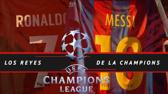 Cristiano y Messi, los reyes de la Champions