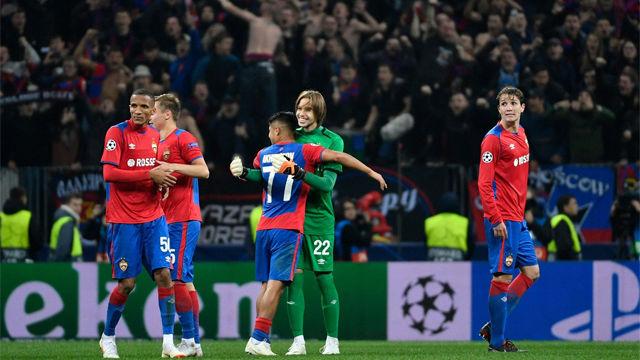 El CSKA Moscú le saca los colores al Madrid